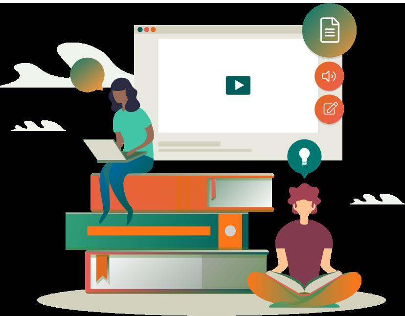 Tu escuela online con cursos y estudiantes ilimitados